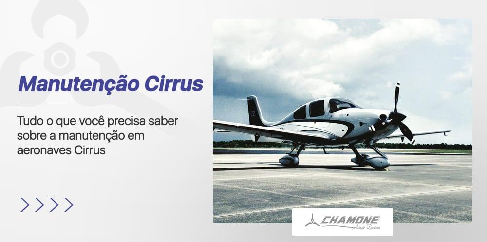 Manutenção em Aeronaves Cirrus