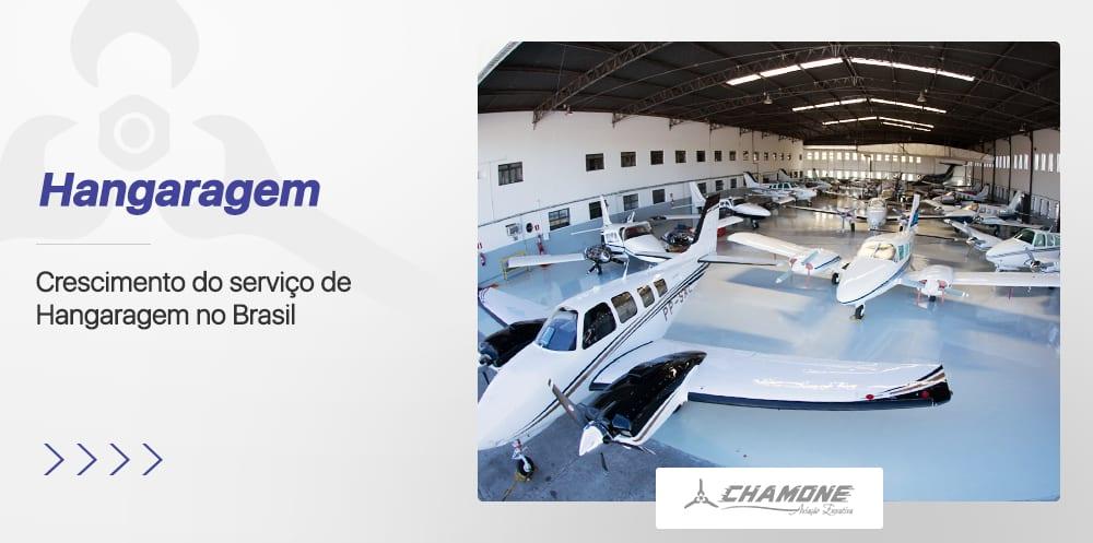 Crescimento do serviço de Hangaragem no Brasil